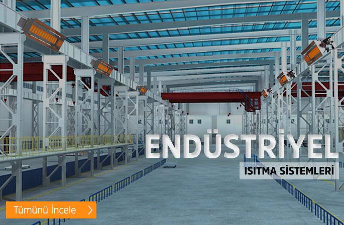 Endüstriyel Isıtma Sistemleri