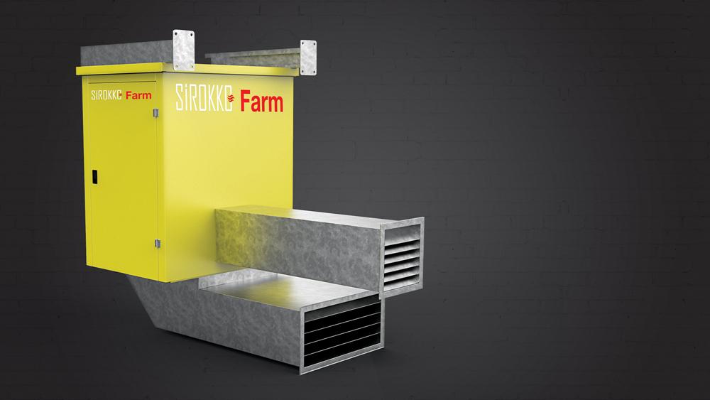 Sirokko Farm - Tavuk Çiftiliği Isıtıcıları - Doğalgazlı Kapalı Alan Isıtıcı Sıcak Hava Üreteçleri - KM 808