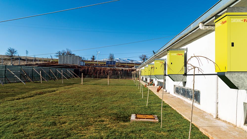 Sirokko Farm - Tavuk Çiftiliği Isıtıcıları - Doğalgazlı Kapalı Alan Isıtıcı Sıcak Hava Üreteçleri - KM 803
