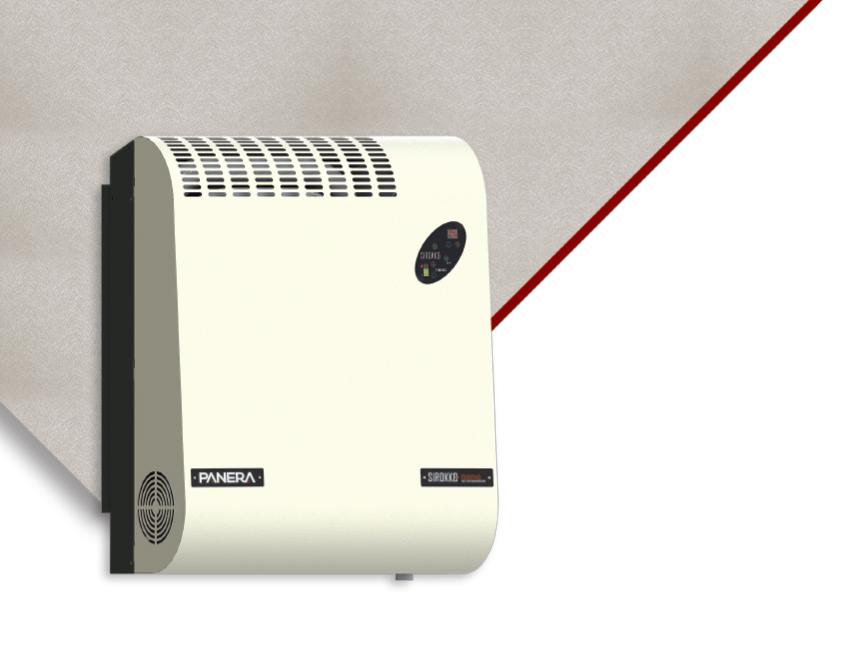 Sirokko Nano - Sıcak Hava Üreteci