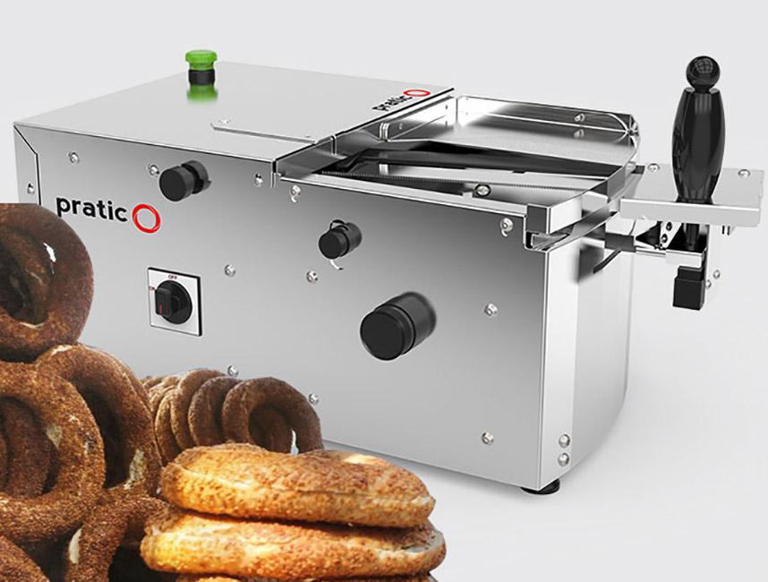 Pratico Simit Hamburger Sandviç Kesme Makinası2