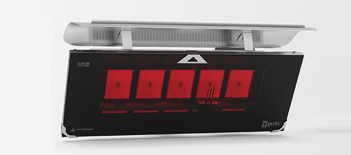 Gufo HG Seramik Radyant Isıtıcı Dekoratif Cafe Isıtma Sistemleri
