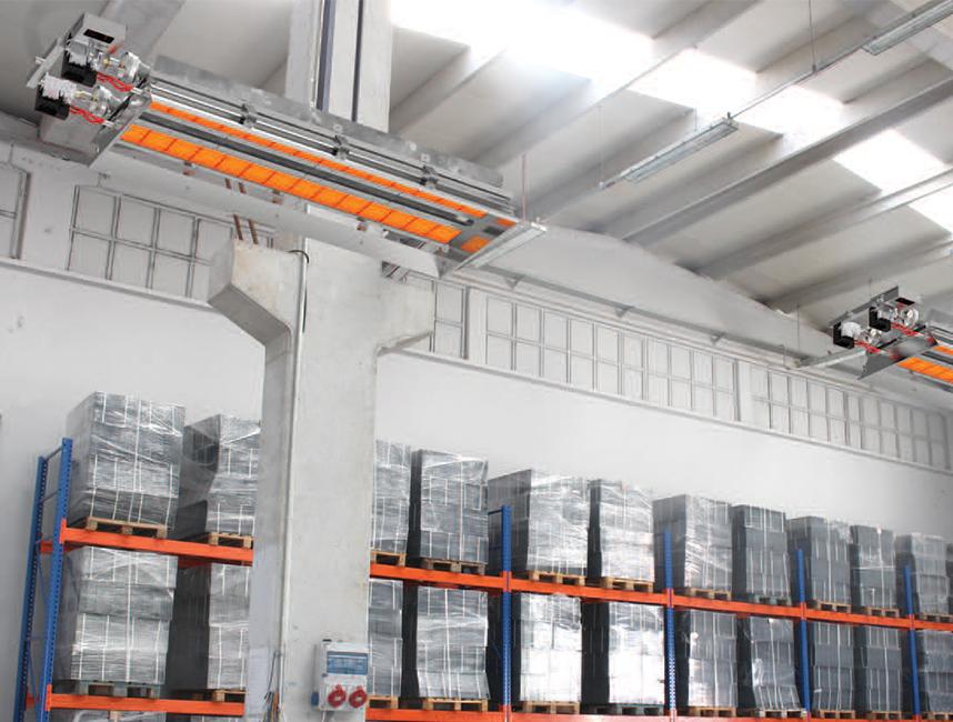 Seramik Plakalı Radyant Isıtıcı - Gufo EKO LD20- 36 kW ÇİFT KADEME+KUMANDA4
