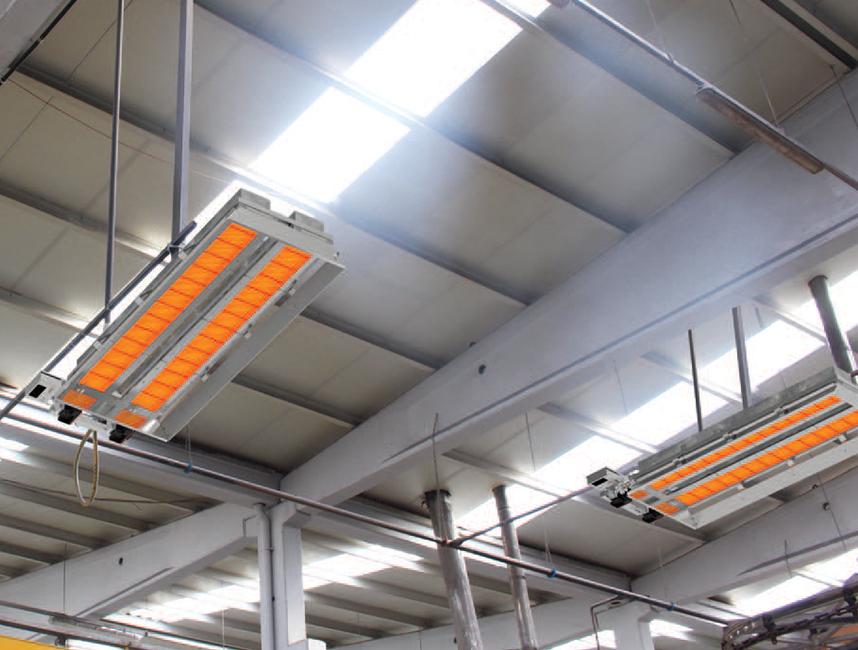 Seramik Plakalı Radyant Isıtıcı - Gufo EKO LD20- 36 kW ÇİFT KADEME+KUMANDA3