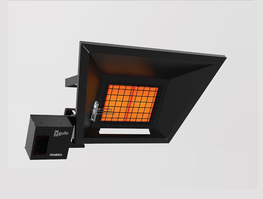Seramik Plakalı Radyant Isıtıcı - Gufo GT 2 - 4 kW ÇİFT KADEMELİ+KUMANDALI