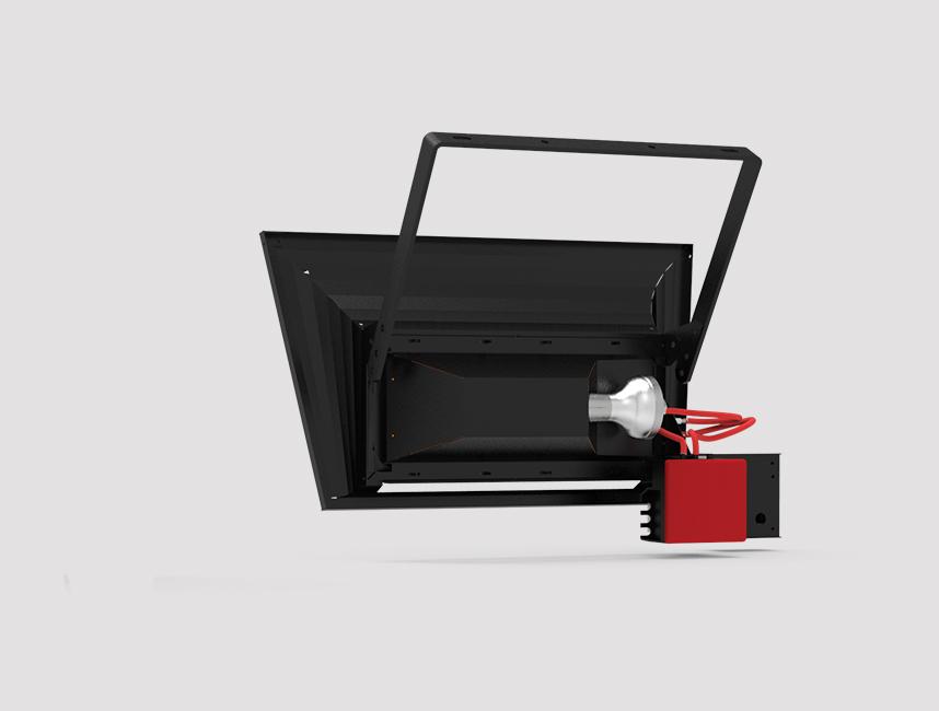 Seramik Plakalı Radyant Isıtıcı - Gufo GT 4 - 8 kW TEK KADEMELİ5