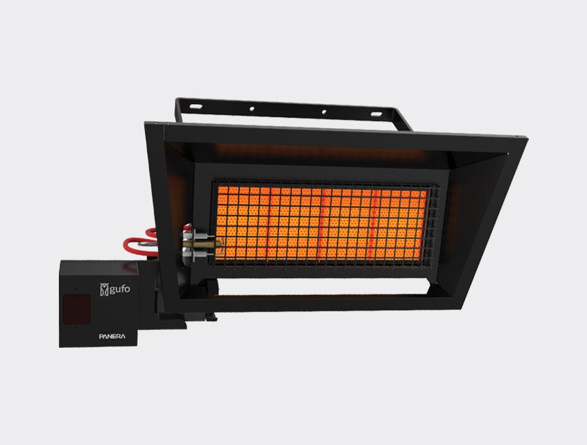 Seramik Plakalı Radyant Isıtıcı - Gufo GT 4 - 8 kW TEK KADEMELİ