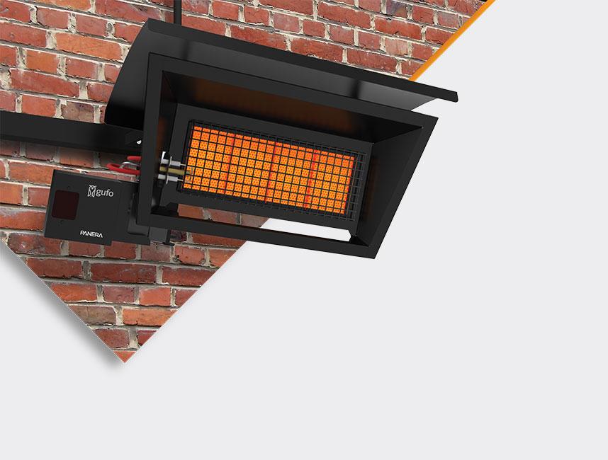 Seramik Plakalı Radyant Isıtıcı - Gufo GT 2 - 4 kW ÇİFT KADEMELİ+KUMANDALI4