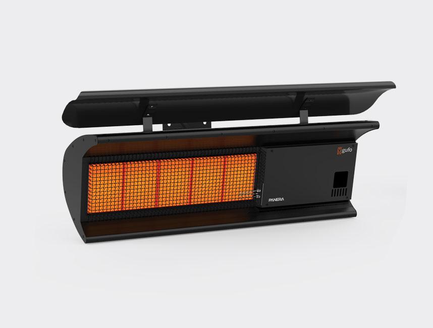 Doğalgazlı Açık Alevli Radyant Isıtıcı - Gufo Neo - 11,4 kW