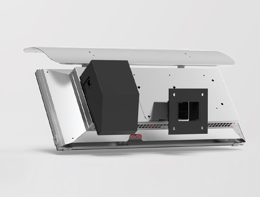 Gufo HG Seramik Radyant Isıtıcı Dekoratif Cafe Isıtma Sistemleri           - 12,5 kW2