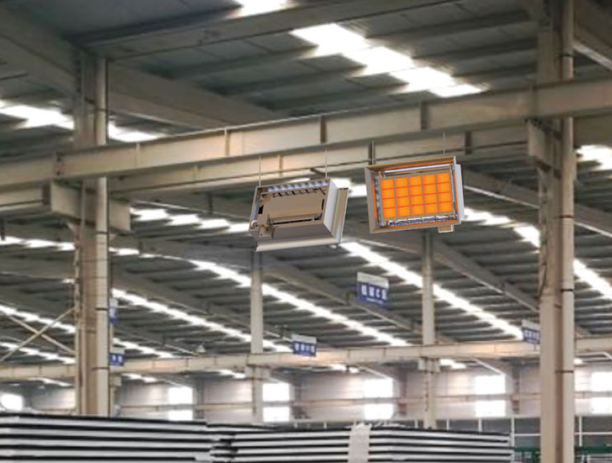 Seramik Plakalı Radyant Isıtıcı - Gufo EKO D25- 48,5 kW ÇİFT KADEMELİ+KUMANDA3