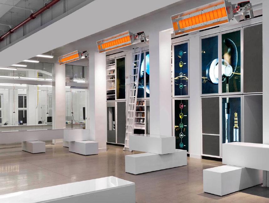 Seramik Plakalı Radyant Isıtıcı - Gufo EKO L10- 18 kW ÇİFT KADEMELİ+KUMANDA3