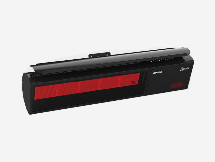 Seramik Plakalı Doğalgazlı Cam Panelli Radyant Isıtıcı - Gufo NG - 11,4 kW