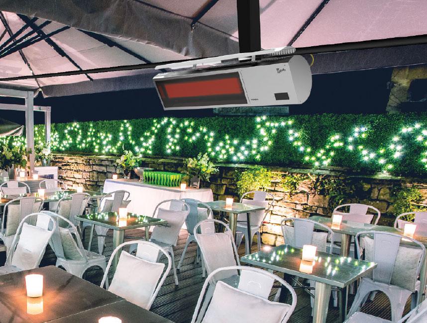 Seramik Plakalı Doğalgazlı Cam Panelli Radyant Isıtıcı - Gufo NG - 11,4 kW5