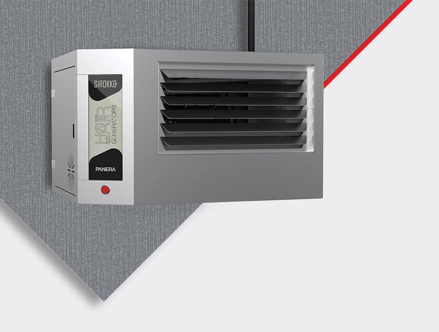 Doğalgazlı Kapalı Alan Isıtıcı Sıcak Hava Üreteçleri - SİROKKO 302