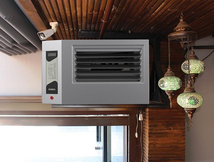 Doğalgazlı Kapalı Alan Isıtıcı Sıcak Hava Üreteçleri - SİROKKO 304